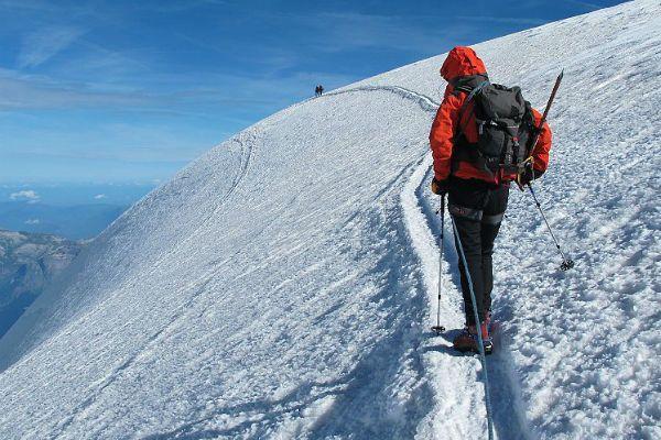 Carriera da alpinista